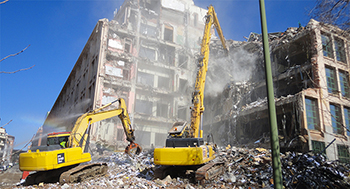Demoliciones mecánicas