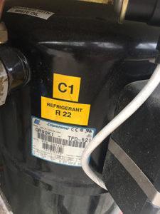 Equipos con gas refrigerante R22